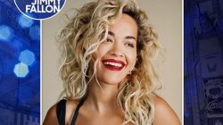 "Rita Ora performon nga karantina për emisionin ""The Tonight Show"""